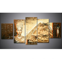 Modern Handmade Amazing African Art Indian Sexy Women Painting for Decoration (AR-120)