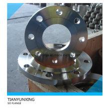ANSI B16.5 Deslizamiento de acero inoxidable en la brida