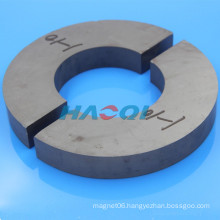 Ferrite ceramic large c shaped magnet
