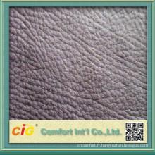 Housse de canapé meubles plain tissu d'ameublement avec de nombreux coloris