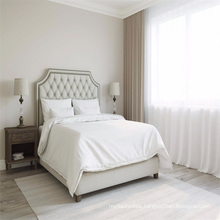 180 Thread Count King Size of Cotton Embroidery Flat Sheets