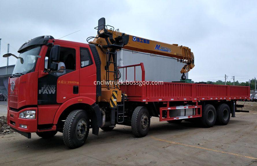 boom truck mounted crane 1