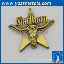 custom zinc alloy/copper anime metal pin badges, with design logo