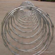 Galvanizado Razor Wire / Razor Barbed Wire / Razor Wire Fencing