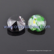 14mm Chinese Lampwork Crystal Bead