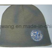 Chapeau / chapeau en crâne en acrylique imprimé en hiver, Bonnet
