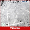 pp fiber for concrete crack resistance