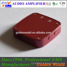 amplificador estéreo de áudio amplificador de auscultadores amplificador de bateria recarregável