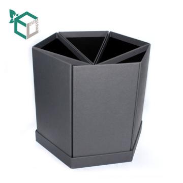 Hexagon-Blumen-Kasten, der mit unregelmäßiger Form verpackt