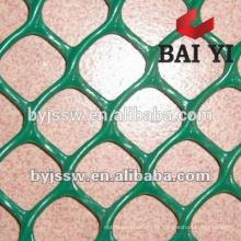 Maille en plastique 1/4, maille en plastique de maille, maille de fibre de verre pour plâtrer