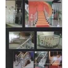 Hôtel Crystal Corridor Decoration Guardrail (Factory Supply)
