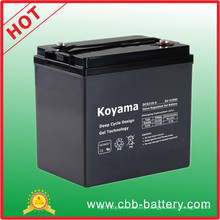 Good Quality Golf Cart Deep Cycle Gel Battery 210ah 6V