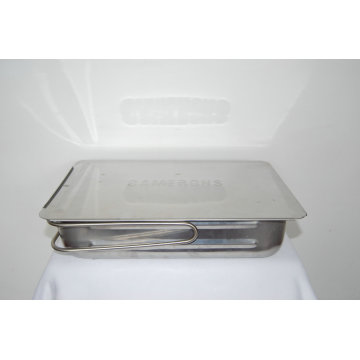 Estampage en acier inoxydable pour les pièces de barbecue Arc-S041-2