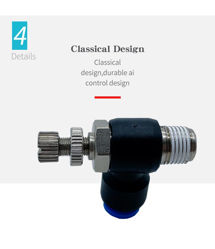 SL pneumatic connector design