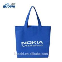 saco de compras não tecido reciclado reusável