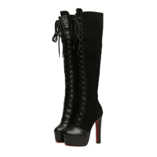 New Collection Fashion High Heel Women Boots (Y 44)
