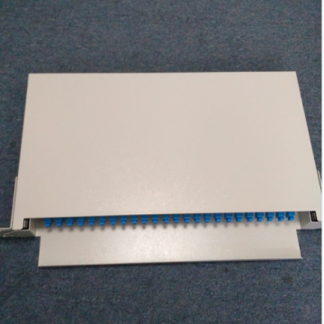 1U Rack Mounted 24 Port Patch Panel