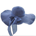 Widen Large Brim Cap Summer Fashion Women Beach Straw Hat