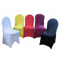 China cheap wedding chair cover for sale, spandex chair cover wholesale