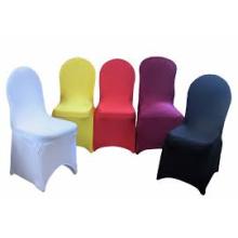 Couverture de chaise de mariée pas cher de Chine pour la vente, couverture de chaise de spandex en gros