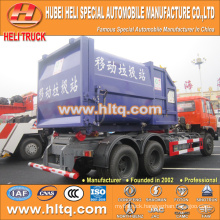 6X4 DONGFENG brand 210hp trash collecting truck capacity of 18 tons high quality in China