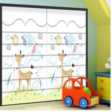Animal print fancy roman obturador persianas para niños habitación