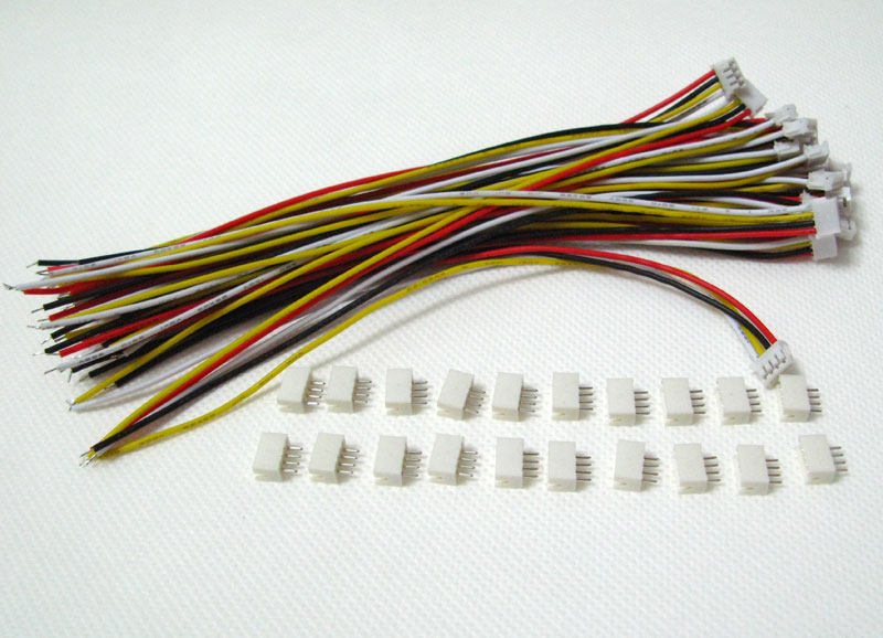jst zh 4 pin connector cable 2