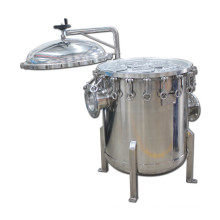 High Temperture Stainless Steel Multi Housing Bag Filter
