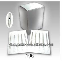 Aguja de perforación de acero inoxidable G10 316L