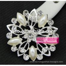 crystal flower corsage wedding brooch
