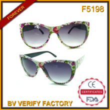 Nuevos productos de 2016 Marcos China fábrica de gafas de sol de lujo