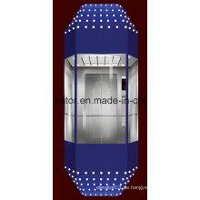 Gute Maschine Zimmerlose Panorama-Aufzug (JQ-A022)
