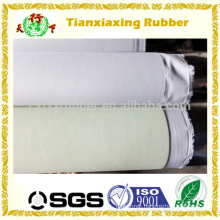White natural rubber rolls, cream color rubber rolls