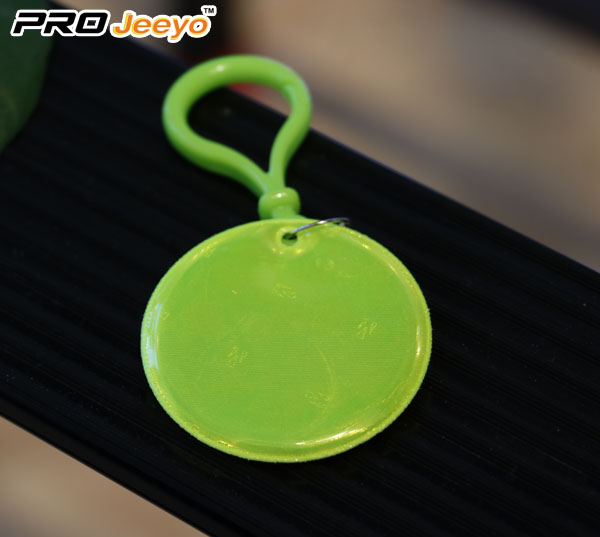 Reflective Smile Keychain With D Shap Hook Rv 101 2