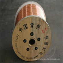 0.10mm-4.0mm Electric Cable CCS Copper Clad Steel Wire