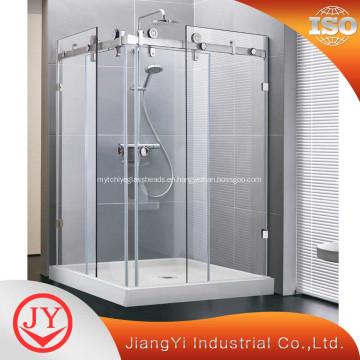 China Complete Set 304 Tempered Glass Sliding Door Manufacturers