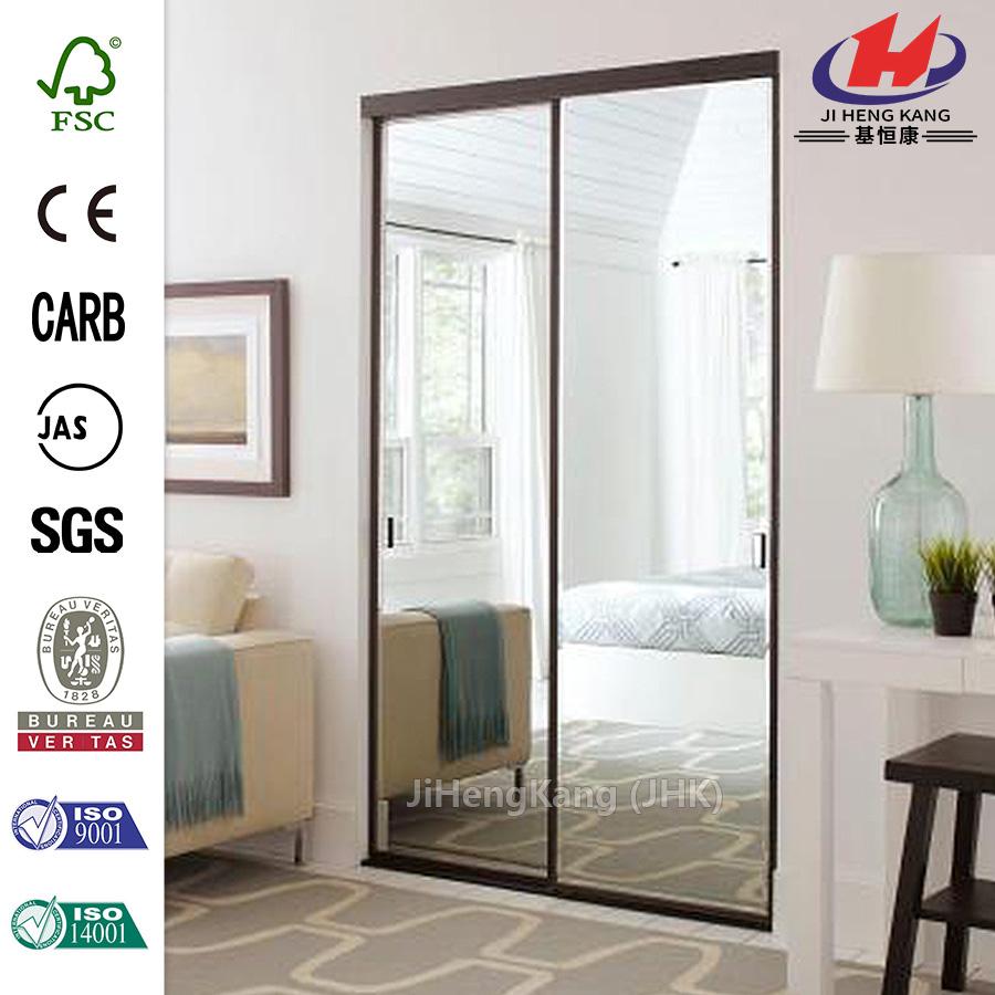 La Chine Miroir Encadré Intérieur Aluminium Placard Porte - Porte placard coulissante et porte interieur vitree aluminium