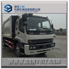 Isuzu Rear-Loading Garbage Compressor Truck 10cbm