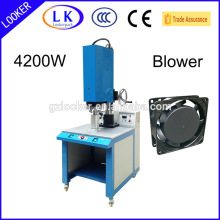Máquina de soldadura plástica ultra-sônica do poder superior para o ventilador da CA