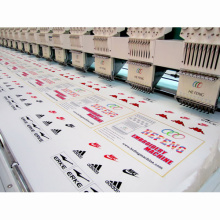 8 heads high speed computerized embroidery machine