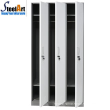 Modern design hot sale steel material 3 door almirah price