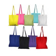 Supplier wholesale black cotton canvas tote bag