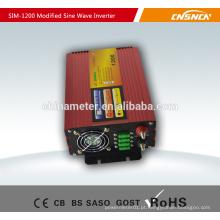 Inversor de energia de onda sinusoidal modificado de 1200W