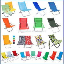 Cadeira ao ar livre Fashional leve, cadeiras de jardim ao ar livre, cadeira de sol dobrável