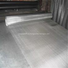 Forma redonda / cuadrada recorta el filtro de tela de alambre de acero negro