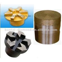 Enchufes de diamante para la preparación del suelo de hormigón húmedo o seco