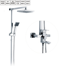 Bathroom shower column rainfall sliding shower set