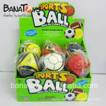 10cm New soft 2014 World Cup soft bouncy pu soccer