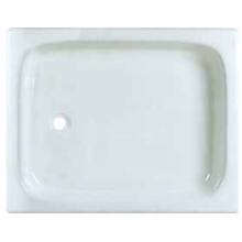 Big Size Enamel Cast Iron Shower Tray