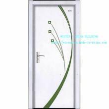 Künstlerische Design Tür Stahl Tür zwei Farbe Tür